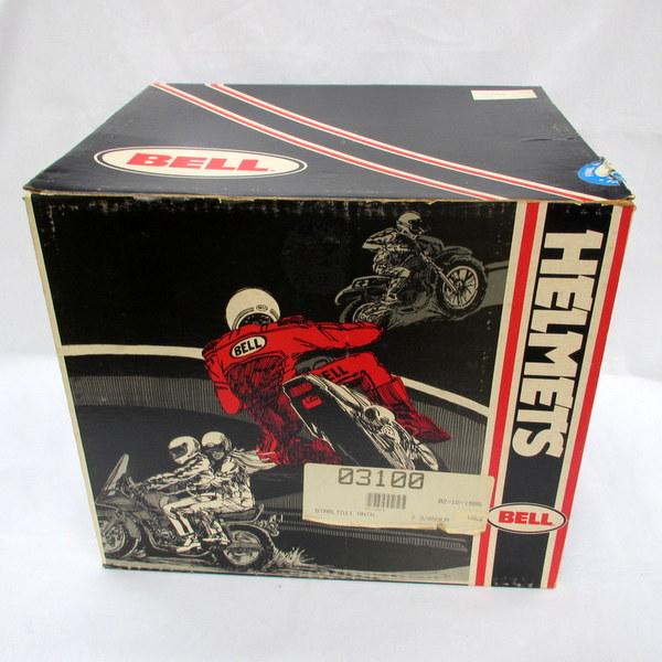 1986年製 箱付デッドストック品 BELL STAR ベルスター Ltd2 ビンテージヘルメット