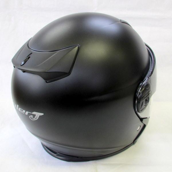 2012年製 OGK KABUTO オージーケーカブト Valer J バレルジェイ Mサイズ ブラック アウターサンシェード付き