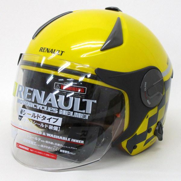 RENAULT ルノー ジェット ヘルメット