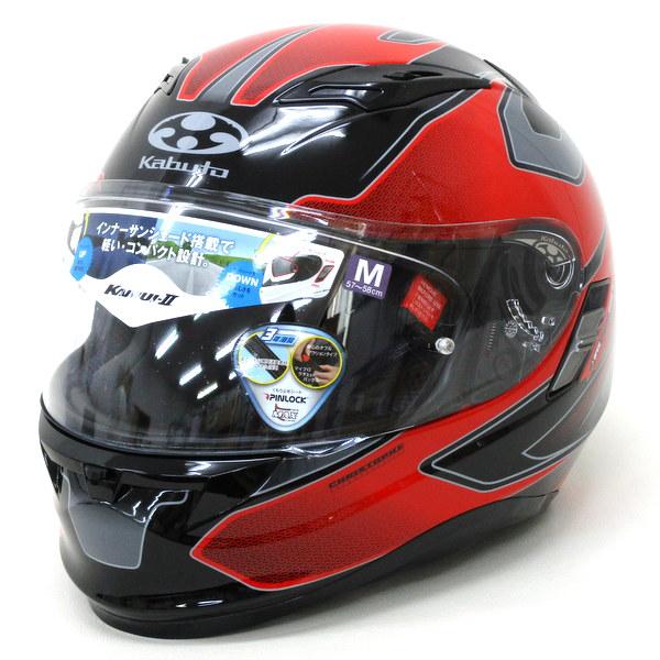 OGK KABUTO オージーケーカブト KAMUI-2 STINGER レッド  フルフェス ヘルメット