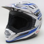 BELL ベル SX-1 ブルー ホワイト 【M】 SG無し 2013年製 オフロード ヘルメット