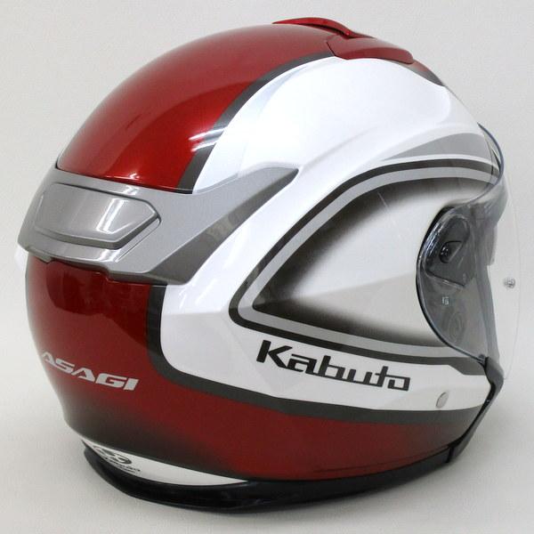 OGK KABUTO  ASAGI CLEGANT パールホワイト ジェット ヘルメット