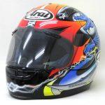 ●Arai Astro-M アライ アストロM 岡田忠之 レプリカ グラフィック フルフェイス ヘルメット