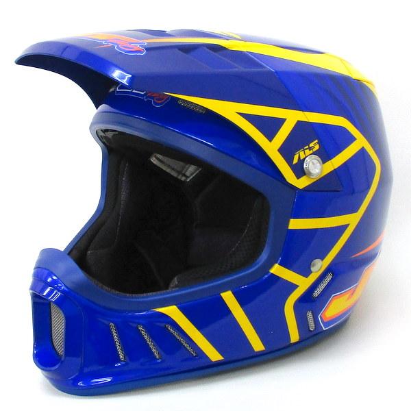 JT Racing JTレーシング ALS-02 ブルー  オフロード ヘルメット